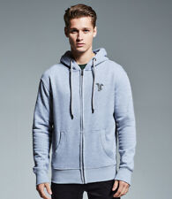 More details for whippet clothing gifts embroidered organic full zip hoodie