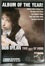 Bob Dylan Time Out of Mind 1997 PROMO POSTER