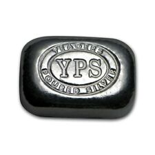 Lingot Pepite 1/2 Once argent pur 999 / YPS 1/2 Oz Fine Silver 999 Nugget Bar