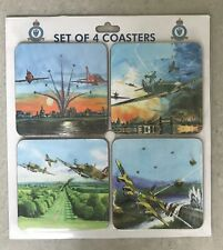 Set of 4 BOMBER COMMAND Coasters - New