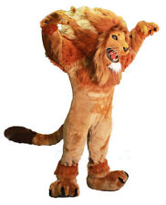 Long Fur Lion Mascot Costume Cosplay Party Fancy Dress Adults Halloween Parade #