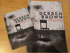 More details for derren brown infamous tour official programme brochure + tour flyer 2013
