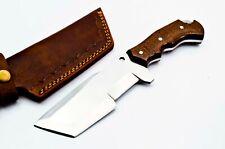 Custom made Stainless Steel Tracker Hunting Knife FF535 Micarta Handle