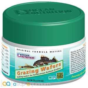 Ocean Nutrition Algae Wafers 75 grams (2.6 oz) Pleco and Bottom Feeder Tablets