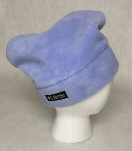 Columbia Sportswear Purple S/M Fleece Winter Hat Cap Snowboard Ski