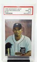 1995 Bowman's Best Blue Tigers JUAN ENCARNACION Rookie Baseball Card PSA 9 MINT