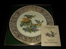 Boehm Birds by Lenox Porcelain Limited Edition Plate Goldfinch 1971 orig.box