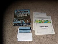 "Conquered Kingdoms IBM PC Game 5.25"" disks Complete in Big Box"