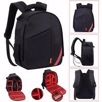 Canon EOS Nikon Sony Camera Bag Backpack Case Waterproof Shockproof DSLR SLR