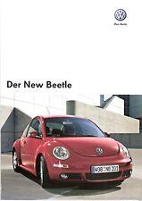 Prospekt / Brochure VW New Beetle 11/2007