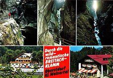 Breitachklamm , Oberstdorf , Kl. Walsertal , Ansichtskarte