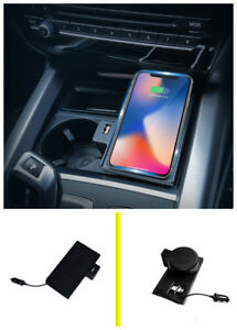 Console Storage box Wireless Charging charger For BMW X5 F15 X6 F16 2015-2018