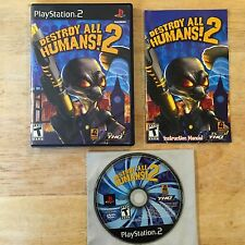 Destroy All Humans 2 Playstation 2 PS2 System Complete Game
