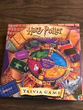 Harry Potter and the Sorcerer's Stone Trivia Board Game. Never Played! Complete!