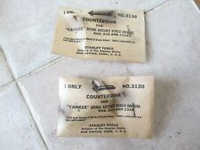 """Stanley """"Yankee"""" Countersink for Spiral Screwdrivers No.3130 - NOS !"""
