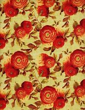 1 Yard End of Summer Wilmington Prints Cotton Fabric 86316 787 W Allover Floral