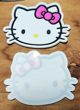 Bn - Silicone Coaster placemat - Hello Kitty Pink Bow Set of 2