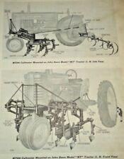 John Deere MT200 Cultivator Parts Catalog Manual Book Original! fits MT Tractor