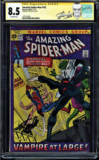 AMAZING SPIDER-MAN #102 CGC 8.5 SS STAN LEE ORG. & 2ND APP MORBIUS #1227710001