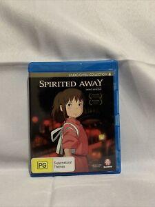 SPIRITED AWAY 2001 Region B Blu-ray - AU/NZ/UK - New Studio Ghibli