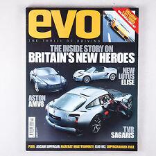 EVO magazine 065 March 2004 Maserati Quattroporte Tvr 450SEAC Griffith Sagaris