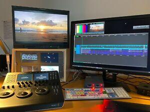 JVC DT-R24L41D Full HD-SDI Broadcast Multi format Panel display.