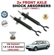 AVANT GAUCHE & DROITE Amortisseurs pour VW PASSAT 1.6 1.8 2.0 4MOTION 1996-2005