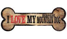Bernese Mountain Dog Sign - I Love My Bone 3x10