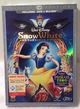 Disney SNOW WHITE And The Seven Dwarfs DIAMOND ED Blu-ray/DVD Combo SEALED