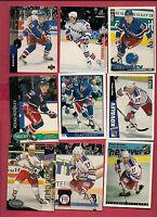 9 X 1990S NY RANGERS ALEX KOVALEV CARD