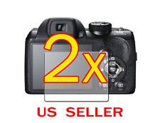 2x Fujifilm FinePix S4300 S4200 Clear LCD Screen Protector Guard Shield Film