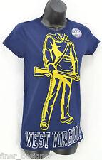 Pro Edge West Virginia University WVU MOUNTAINEERS Ladies T- Shirt Top SZ S NWT