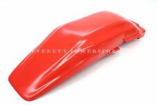 Tahitian Red Rear Fender 81 82 Honda XR250 R XR500 R Plastic Mud Guard #C39