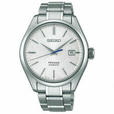 Seiko Presage SARX055 40.8mm Titanium Automatic Japan Made Men's Watch - Silver