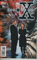 THE X-FILES #6 TV SHOW SERIES TOPPS COMIC BOOK FOX MULDER DANA SCULLY