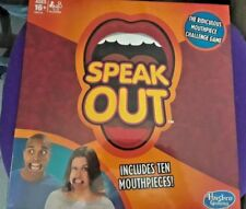 Hasbro Speak Out Game - BRAND NEW SEALED 10 MOUTHPIECES AGES 16+