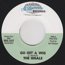 "THE IDEALS Go Get A Wig ST. LAWRENCE New Re 7"" 1965 Primal R&B Gorilla Beat HEAR"
