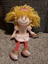 "Jellycat Ballerina Princess Doll Soft Plush Toy Comforter 12"" Pink Star"