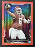 2015 Bowman Rainbow Red #R107 Blake Sims /199 - NM-MT