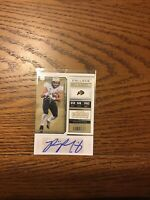 2018 Contenders Draft Picks Philip Lindsey Broncos College Ticket Autograph RC