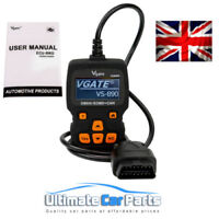 FORD FAULT CODE READER ENGINE SCANNER DIAGNOSTIC RESET TOOL OBD 2 CAN BUS EOBD