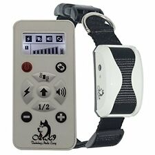 Our K9 IVORY Advanced Remote Dog Training Collar. With Sound / Vibration / and a