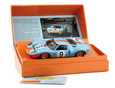 Slot.it SICW16 Ford GT40 Gulf #9 Le Mans 1968 1/32 Slot Car for Scalextric Fly
