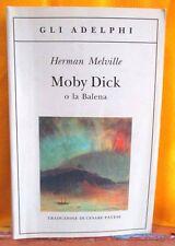 Melville MOBI DICK O LA BALENA trad. di Pavese - Gli Adelphi 2009