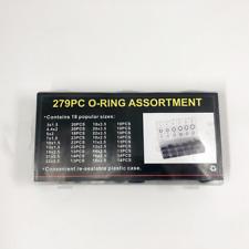 279 Pcs 18 Sizes O-Ring Assortment  Metric Seals Watertightness O-Ring KIT