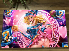 NEW Yugioh Dark Magician Girl Playmat Trading Card Game DMG Game Mat + Bag