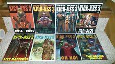 KICK ASS Series 3 1-8 Complete Set 2013 Millar John Romita Jr High-Grade NM