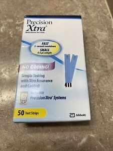50 Precision Xtra Glucose Test Strips Exp: 31 Jan 22