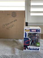 Funko POP! Spider-Man 2099 #761 ECCC 2021 shared sticker Walgreens Exclusive 🕸