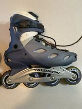 Salomon Womens Rollerblades Roller Blades In Line Skates Composite Size 9 Used